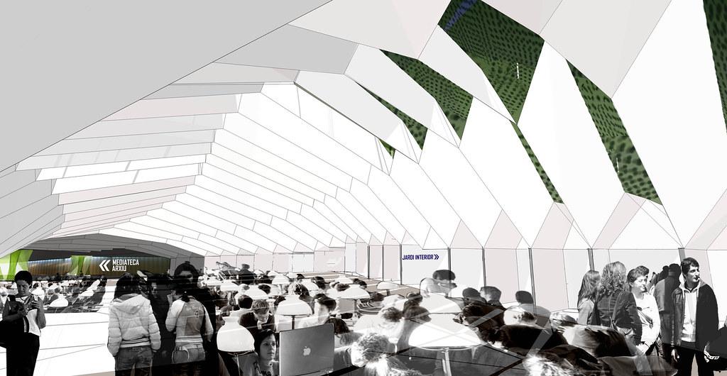 Interior sala de lectura portal del coneixement una for Portal del interior