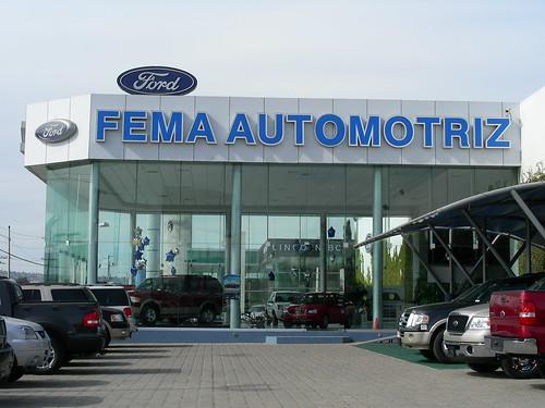 Tijuana Ford Agency Fema Automotriz Is The Ford