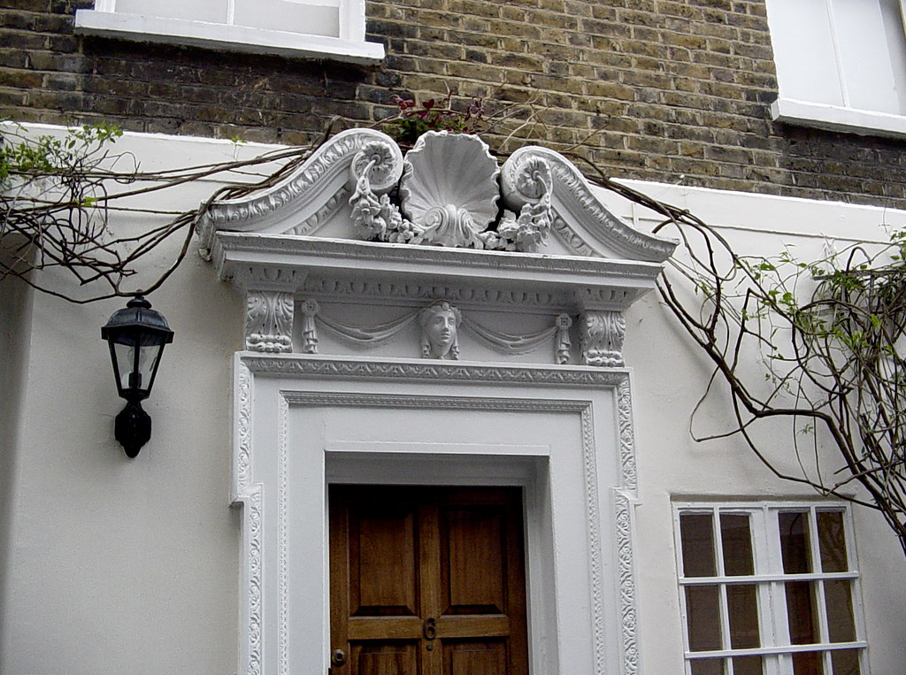 Wonderful ... Chelsea Door Pediment With Shell | By Londonconstant