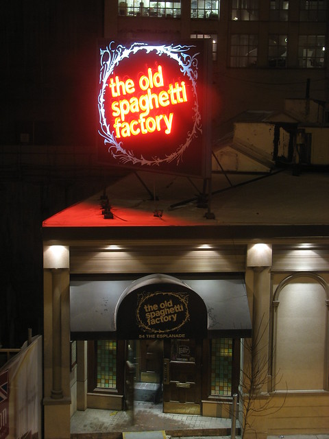 The Old Spaghetti Factory, Toronto
