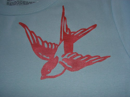 Swallow stencil | by Jojobean26