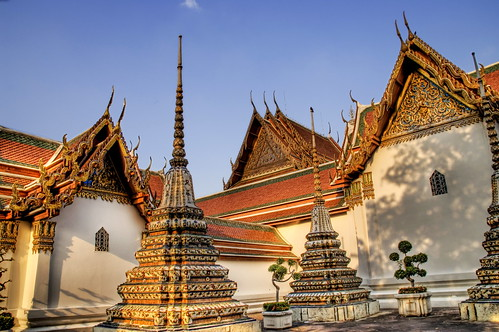 Wat Pho in the Afternoon Shadows | by Stuck in Customs