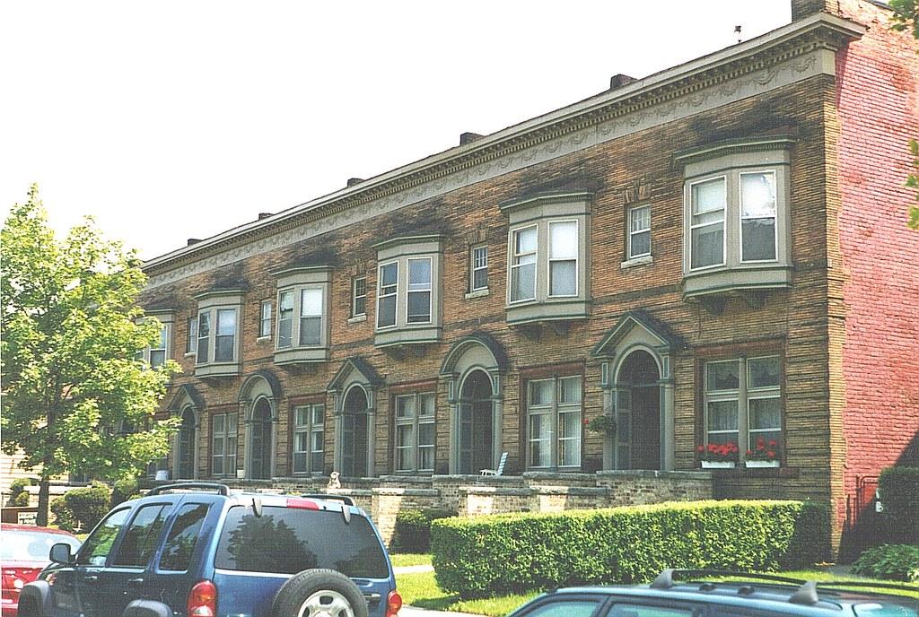Row Houses  U0026quot The Terraces U0026quot   1633 Leverette  Corktown