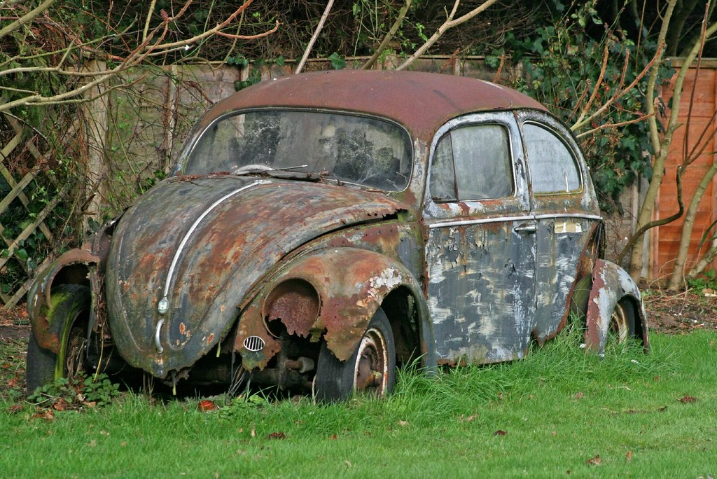 Vw Beetle A Sad Photo Or A Proud One Having Done So Many