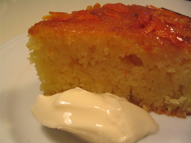 Orange Yoghurt Syrup Cake