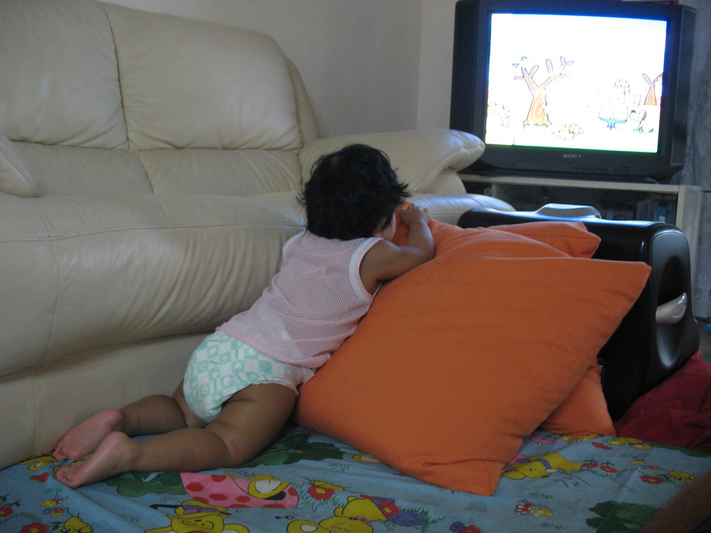 Allyson Is Watching jamie allyson watching elmo | kenneth kiffer | flickr