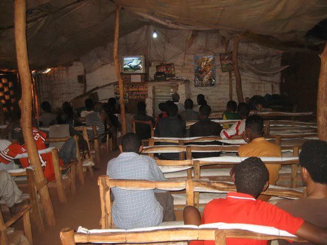 Cinema In Shimelba Refugee Camp Ethiopia Photo By Anna