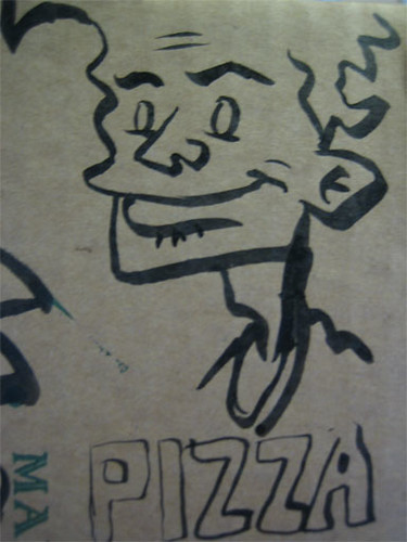 char28e - Pizza Box Doodles | by artandstory