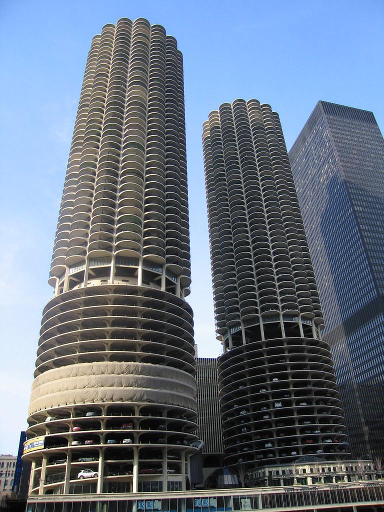 marina city buildings  aka wilco buildings