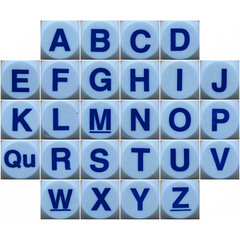 Boggle letters by Leo Reynolds