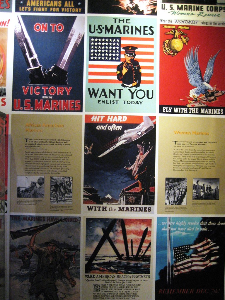 wwii recruiting posters