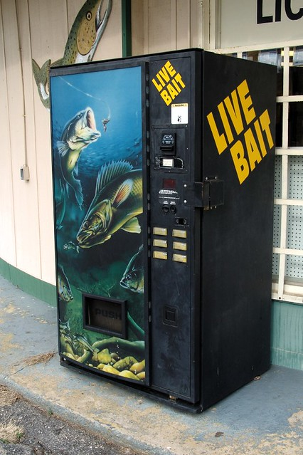 vend-a-bait | Yes, this is North Carolina, where you can get… | Flickr