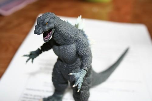 Godzilla ate my homework setting