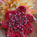 Everlasting flower brooch