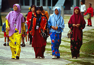 Colorful Islamic Malay Women | by Vin Crosbie