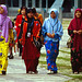 Colorful Islamic Malay Women