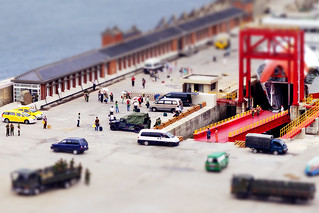 Tilt-shift ─ Jhongjhu Port | by *Yueh-Hua 2017