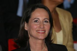Meeting de Ségolène Royal à Dijon