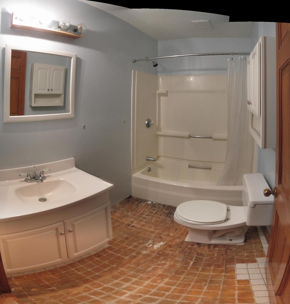 Bathroom Renovation Work Before