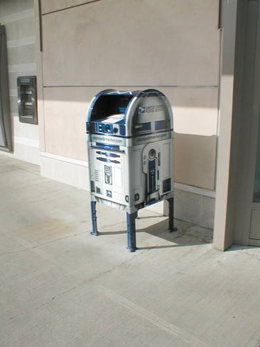 r2-d2 mailbox | by Uplifting Arts