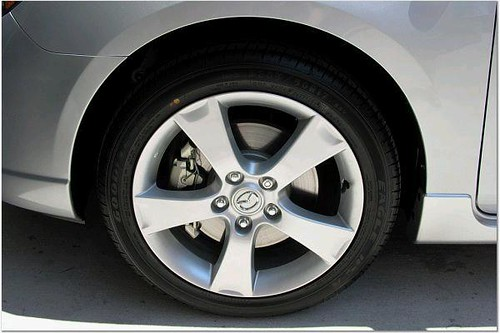 Mazda 3 5 Door >> 2006 Mazda 3 Wheel | Our Mazda 3 S 5-door, closeup of 17 ...