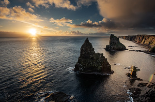 Duncansby Stacks Sunrise | by Grant Morris