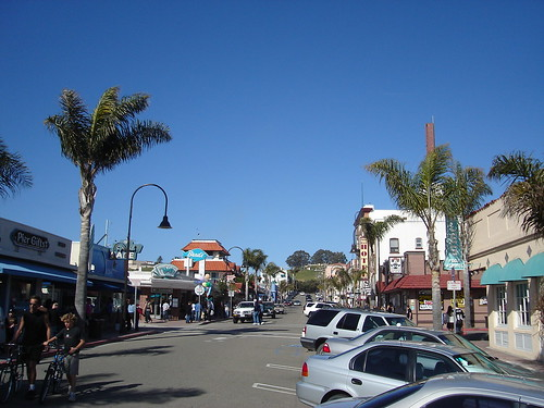 Downtown Pismo Beach California Downtown Pismo Beach