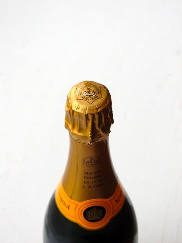 Champagne bottle | by oskay