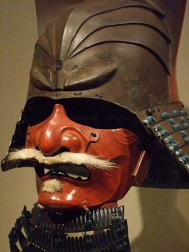Samurai Helmet With Half Face Mask 1615 1650 Edo Period 1