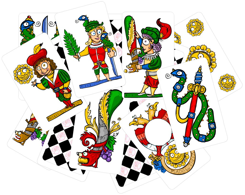 Carte napoletane 2 il mazzo di carte personalizzate for Due di bastoni carte napoletane