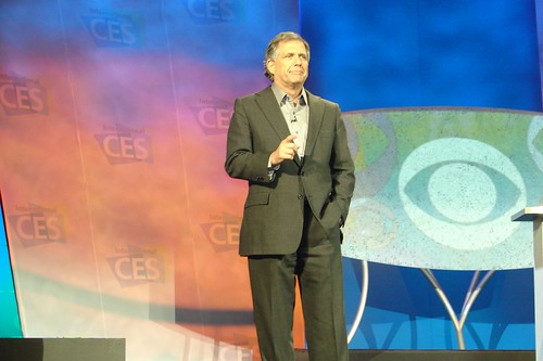 CES: CBS Keynote: Leslie Moonves | by sdk