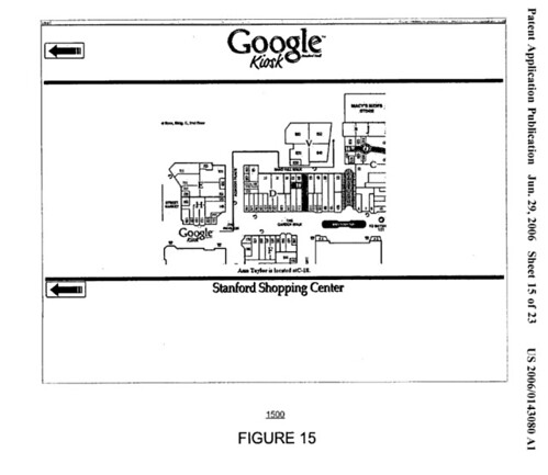 Google Kiosk Showing Mall Layout From Patent Applic Flickr