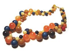Acrylic (Lucite) Necklace, 1950s (?) | by galessa's plastics