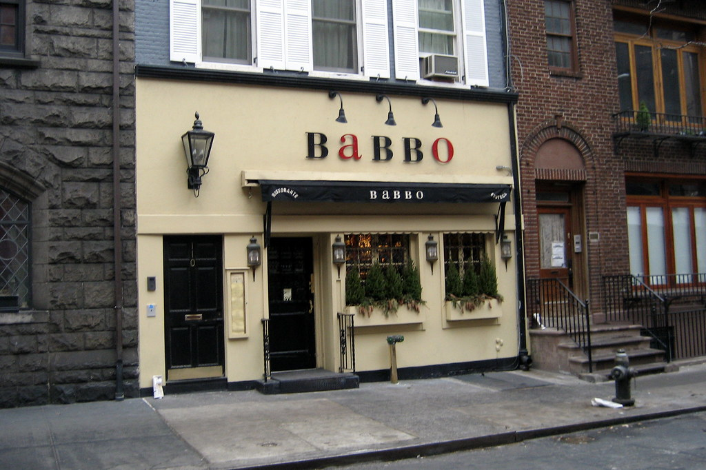 Babbo Restaurant Review New York Times