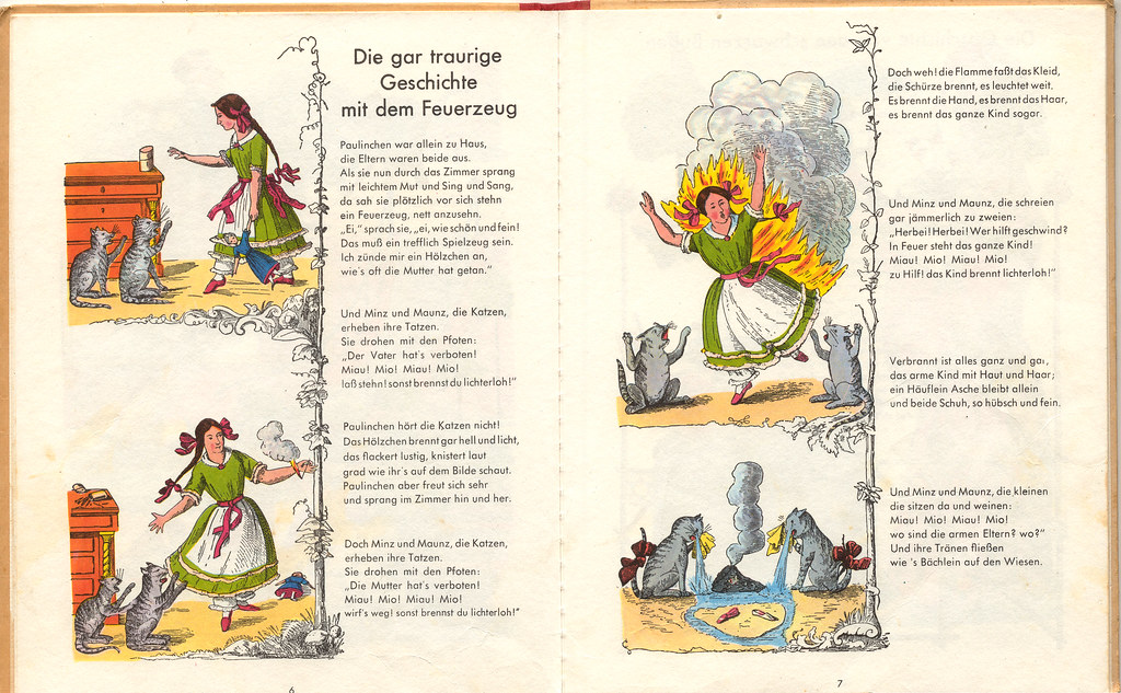 Der Struwwelpeter The Dreadful Story Of Pauline And The