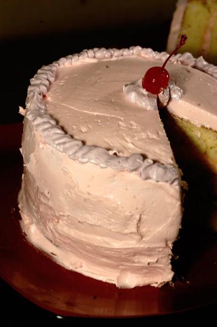 Strawberry Cake Frosting Recipe