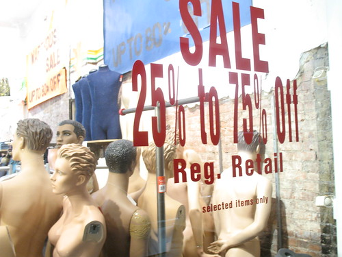 sale window | by Consumerist Dot Com
