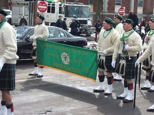St. Pat's 2005 -- New Haven County CT Firefighters Emerald Society | by Bullneck