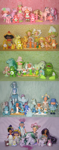 my happy toy rainbow :) | by merwing✿little dear
