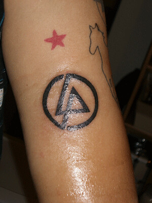 2nd linkin park tattoo their new album is coming out and i flickr. Black Bedroom Furniture Sets. Home Design Ideas