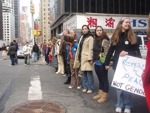 Chain 2 China: Protest in New York City | by Genocide Intervention Network