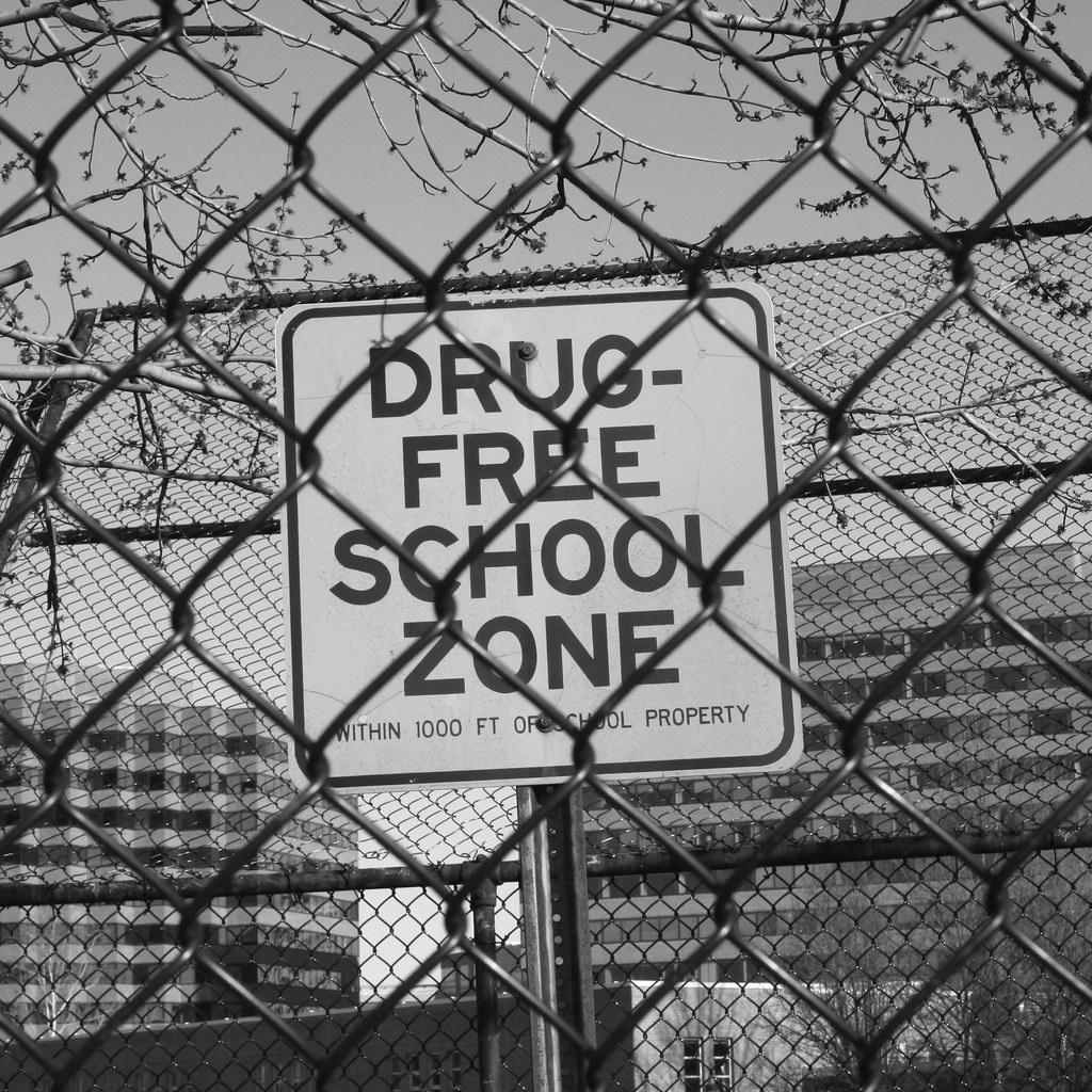Drug Free School Zone |