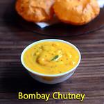 Bombay chutney for poori,idli,dosa