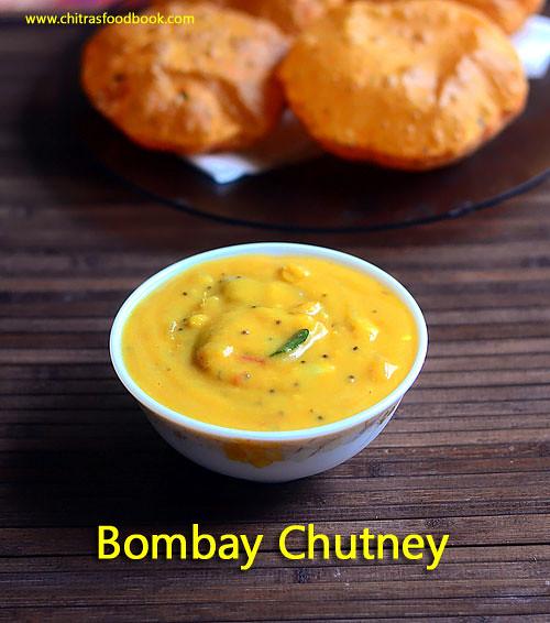 Bombay chutney recipe