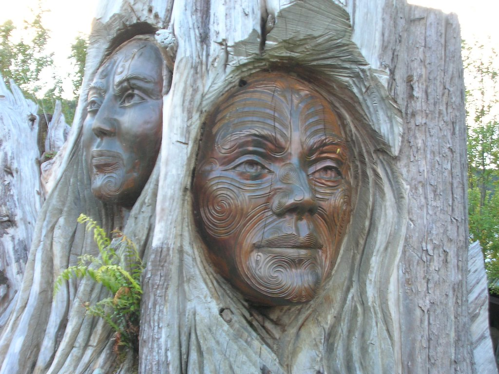 Maori Mythology: Papa And Rangi - Māori Creation Myth