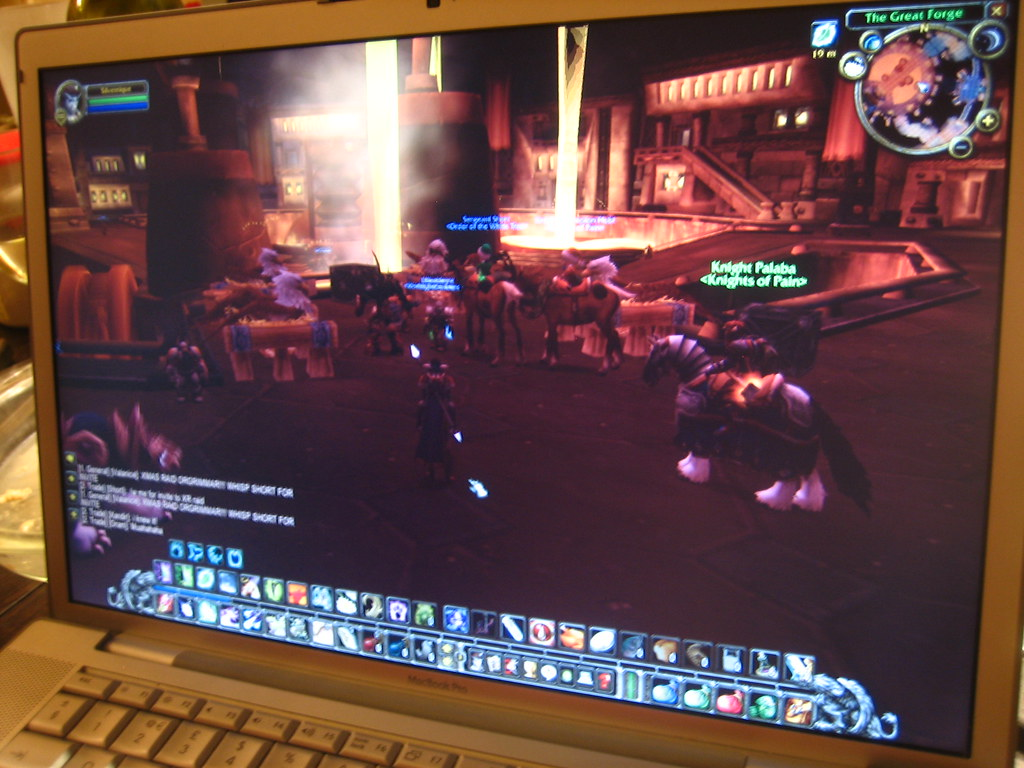 world of warcraft on christmas eve by adactio - World Of Warcraft Christmas