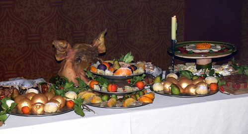 Tudor christmas feast bayleaf farmstead weald and