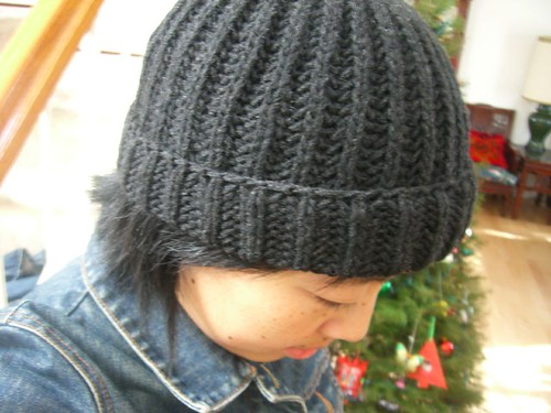 brioche rib hat | by chanachang
