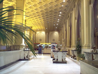 First National Bank (Crocker bank) Lobby Montgomery and Post Streets san francisco | by sftrajan