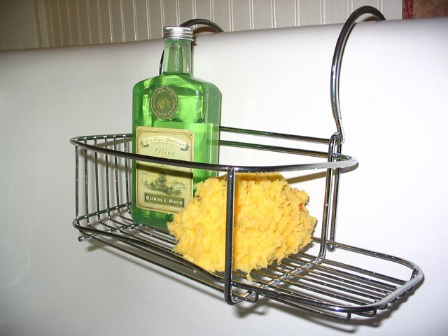 Tub caddy | An easy place for the most-used bath items, like… | Flickr